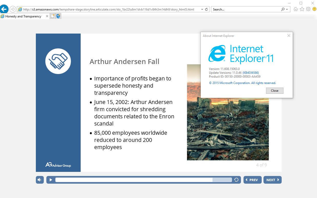 Text not rendering correctly in Internet Explorer 11 - Articulate