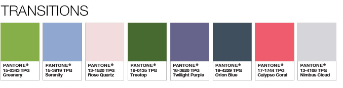 Greenery Color Pairings