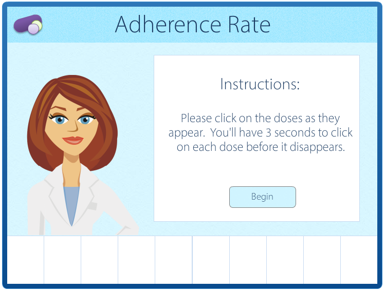Image of an Adherence Rate Interaction