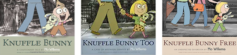 Knuffle Bunny Book Series