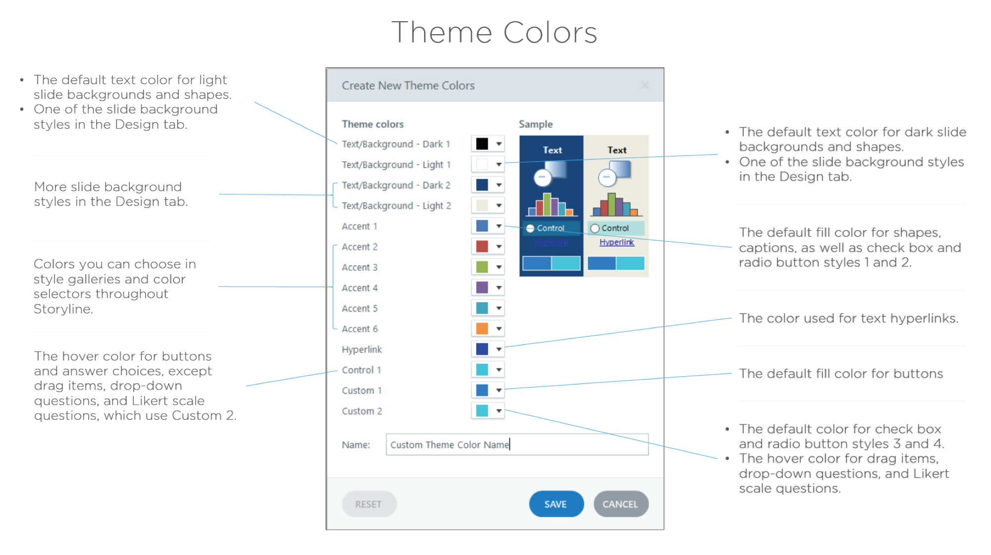 Storyline Theme Colors Screenshot