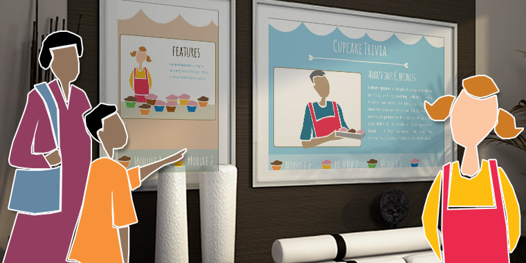 Create an E-Learning Template from Clip Art