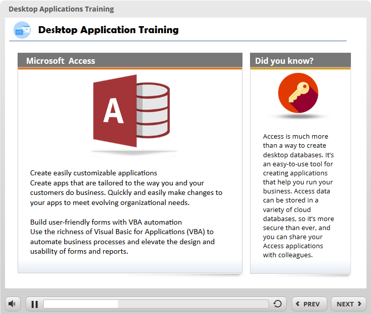 MS Office Training Module - Building Better Courses Discussions - E ...