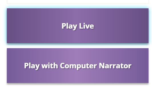 live or narrator buttons