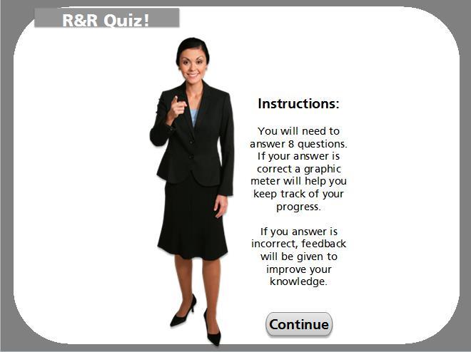 Issue: Quiz slide altered