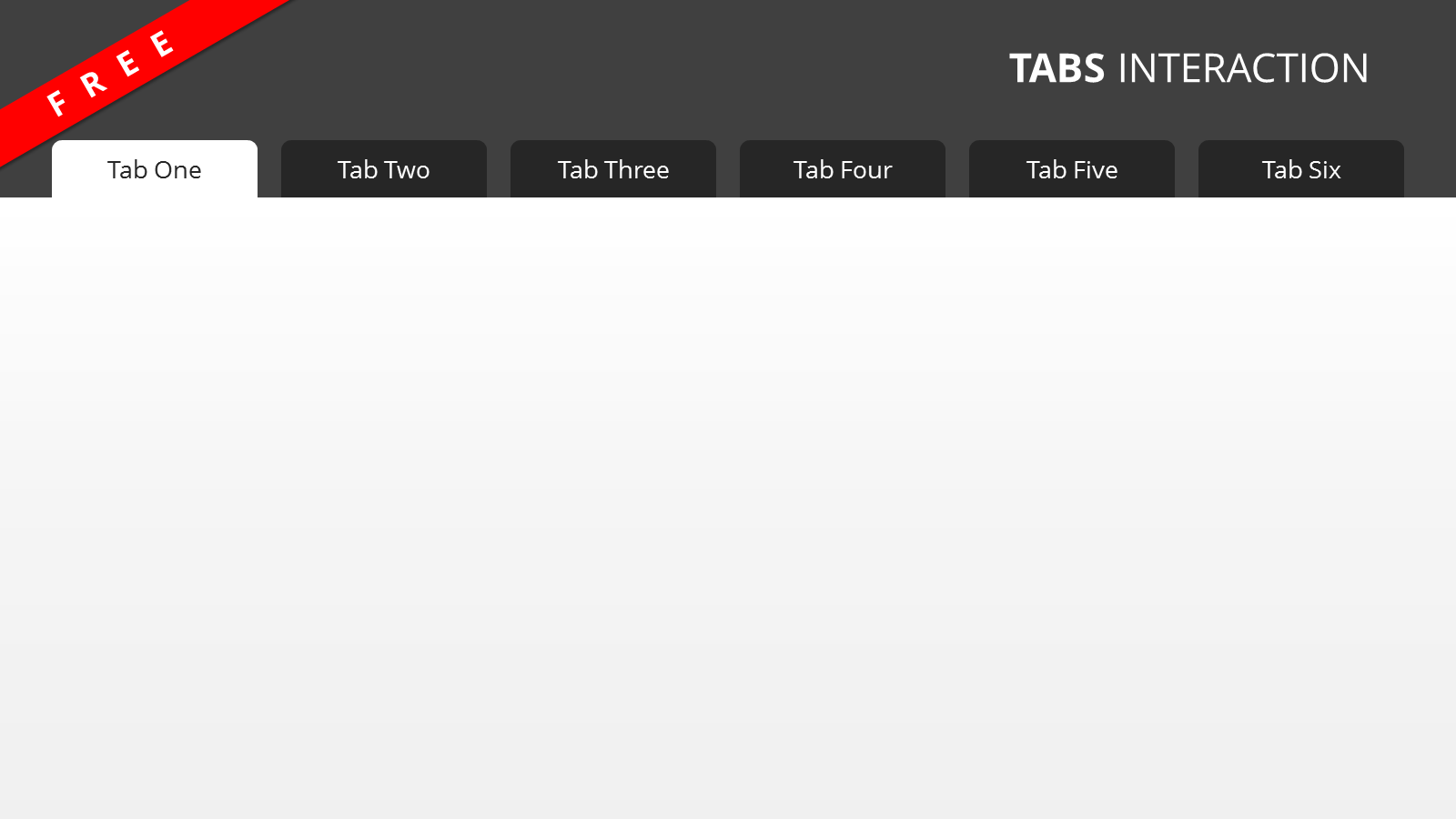 Free Tabbed Template for Articulate Studio