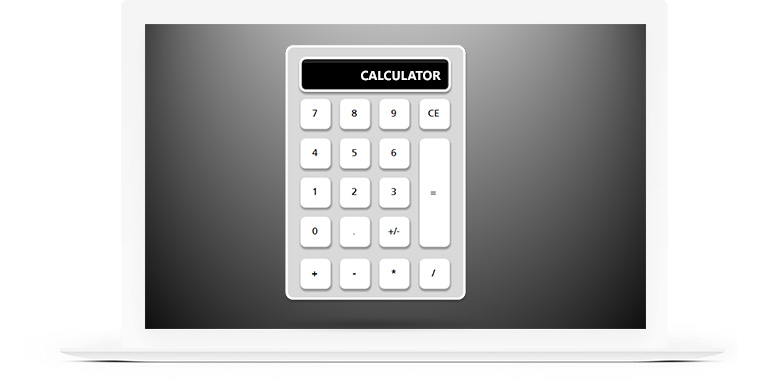Calculator Examples in E-Learning