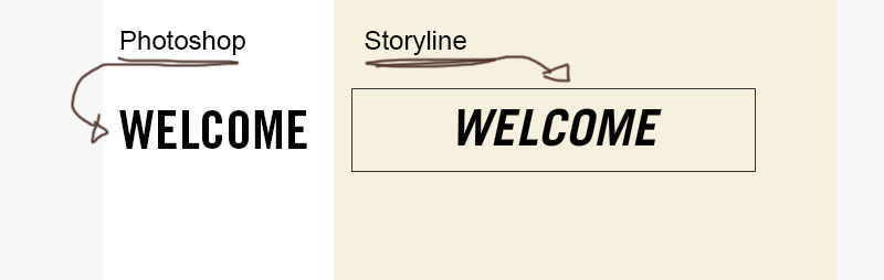 Font Display Issue - Articulate Storyline Discussions - E