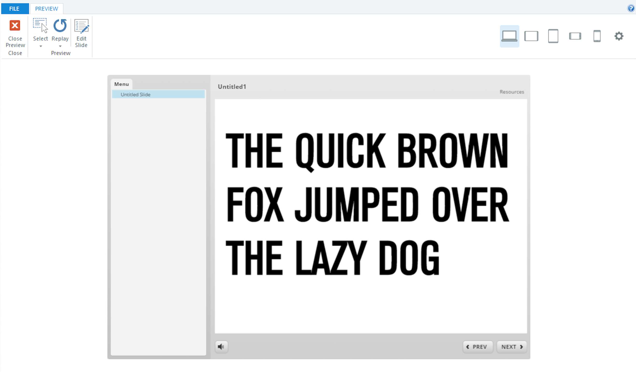 Font issue in Storyline 360 - Articulate Storyline