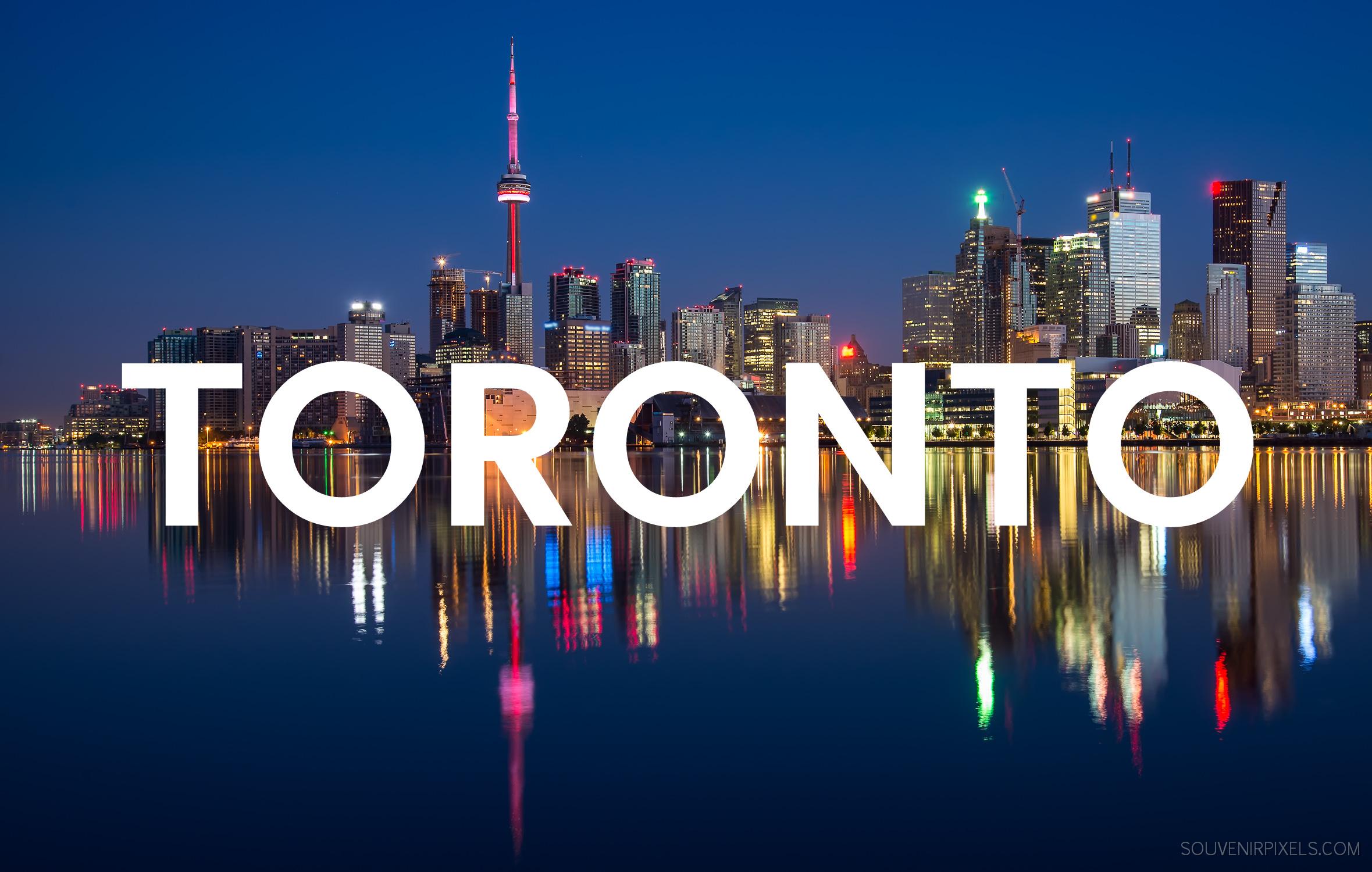 Toronto Storyline User Group Logo - Toronto Skyline at Dusk