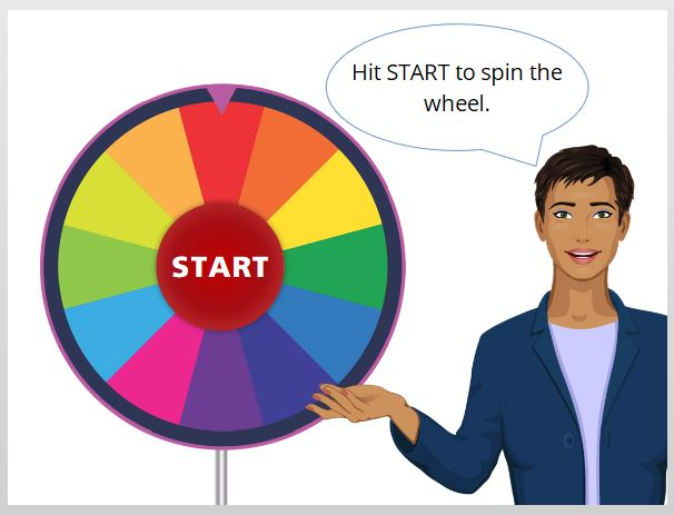 How to make a spinning wheel in SL (no JS need) - Building