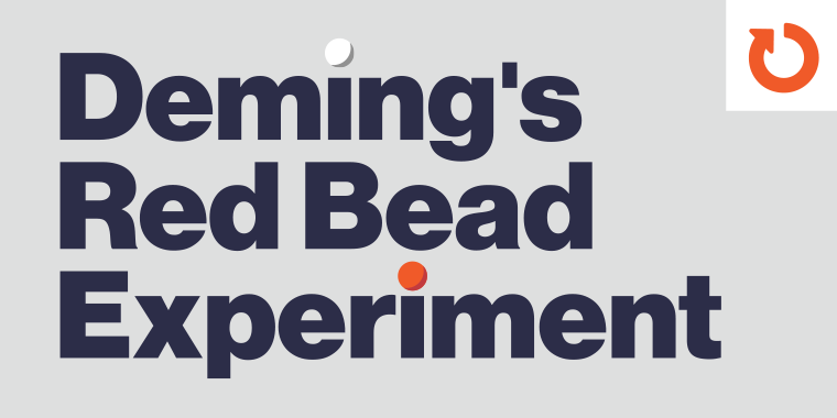 Interactive Simulations of Deming's Red Bead Experiment #136