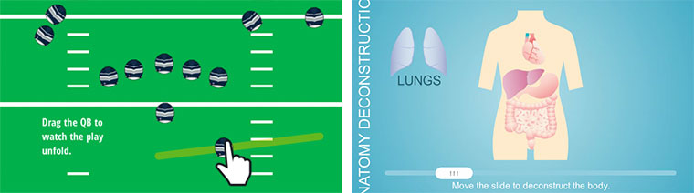 Football and Anatomy Sliders