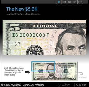 The New $5 Bill