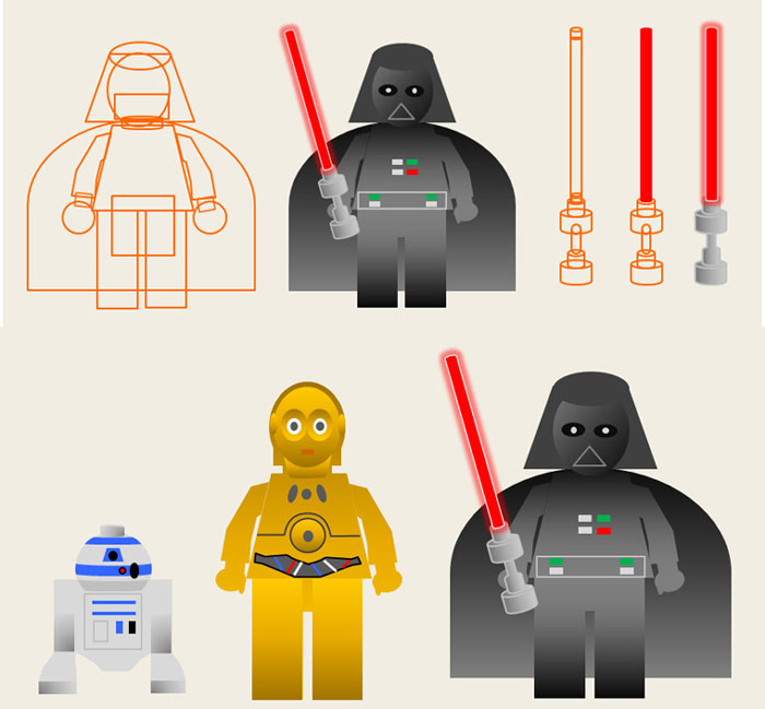 Star Wars Pictograms