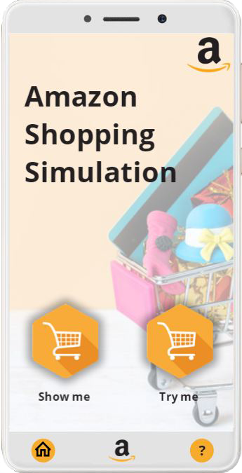 Amazon Shopping Simulation - Building Better Courses Discussions - E