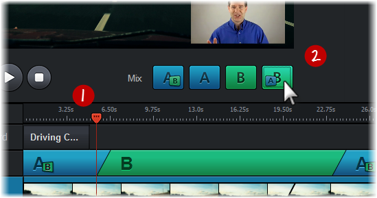 Mixing Your Video in Replay