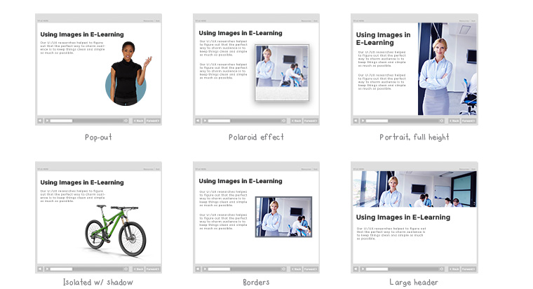 Common Image Effects in E-Learning