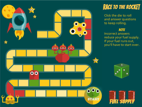 Race to the Rocket Course Screen Shot