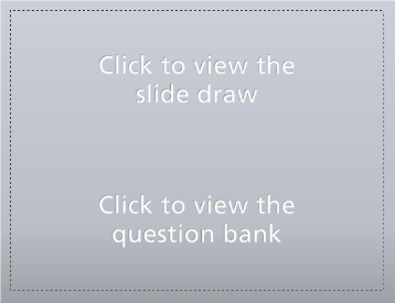 This is what a question draw looks like in slide view