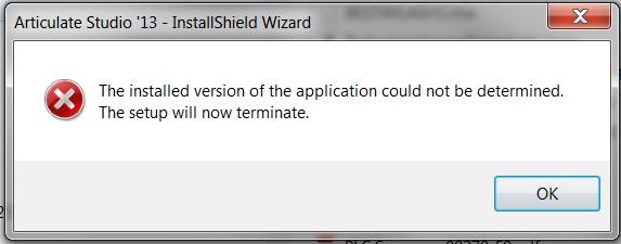 Update 8 error