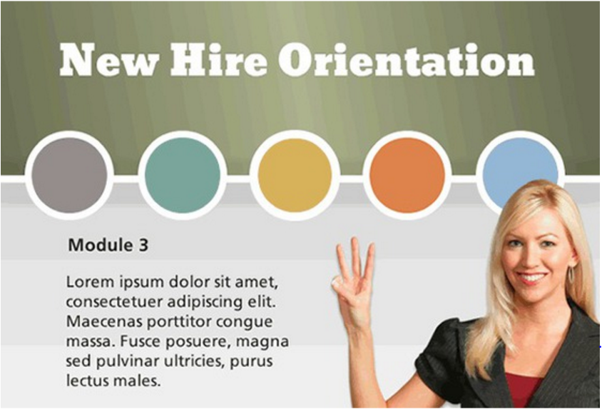 Freebie gamified new hire orientation template for New employee orientation template powerpoint