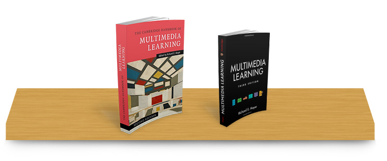 Multimedia Learning Books by Richard Mayer