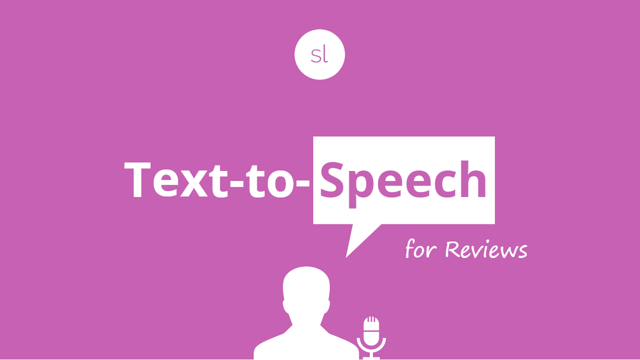 Text to Speech for Reviews Articulate Storyline 360