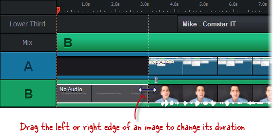 Changing Image Duration in Replay