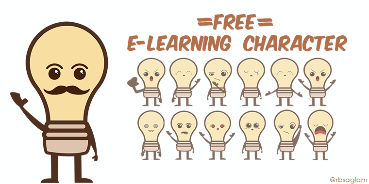 free elearning character