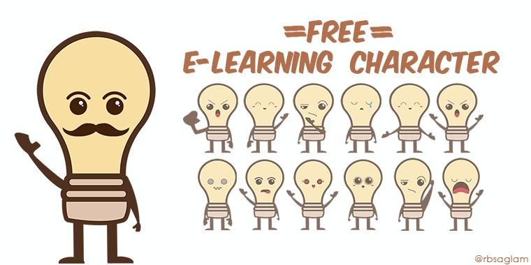 Freebie Kawaii E Learning Character Building Better Courses