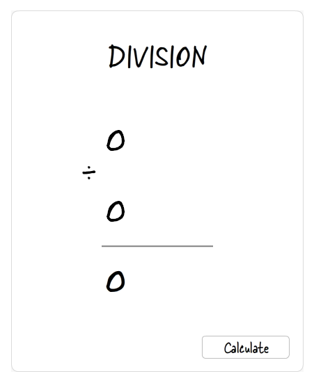 Image of a Division Problem