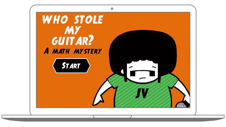 Who Stole My Guitar? A Math Mystery