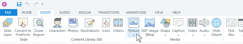 Add an asset to the media library