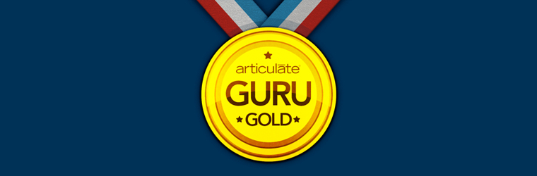 Articulate Guru Gold Winner