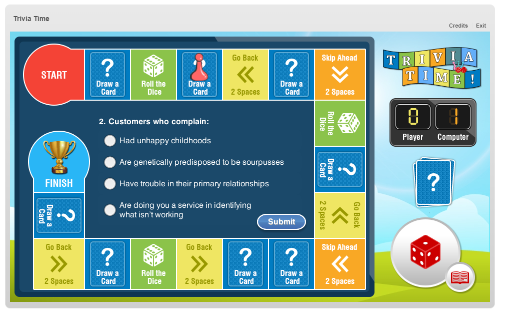 Pic of trivia game