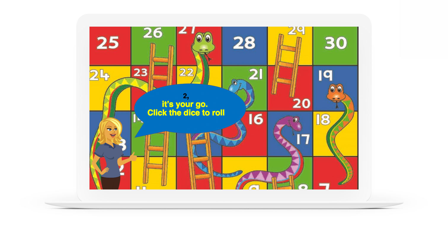 Demo: Snakes and Ladders