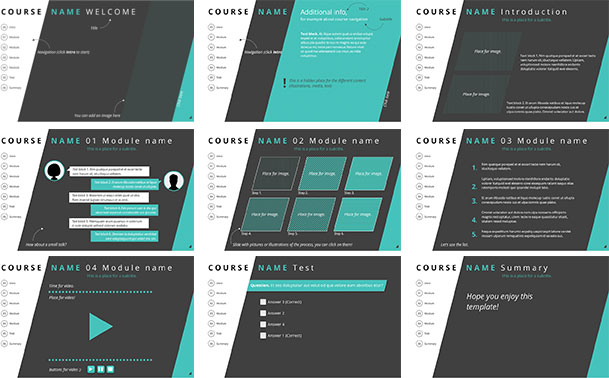 40+ Brilliant Course Starter Templates for E-Learning #123