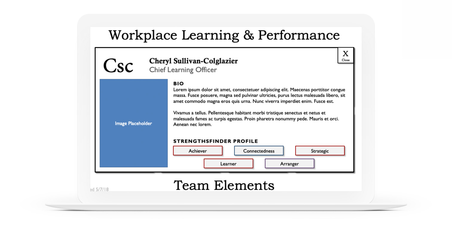 Workplace Learning & Performance