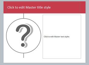 Slide Master Layout