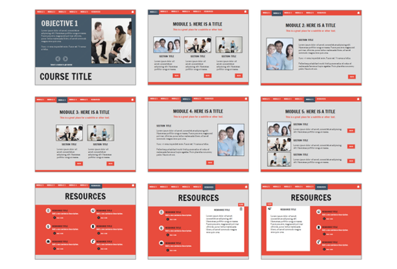 Business Gray Starter Template