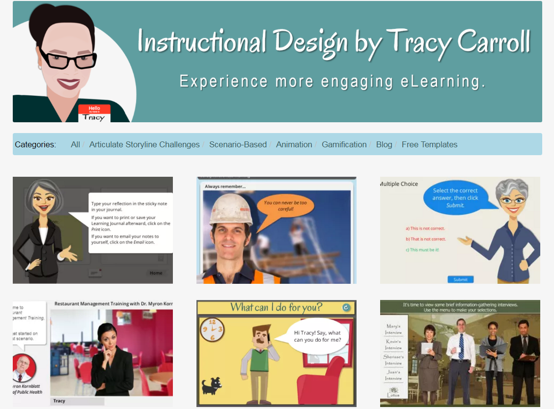 Instructional Design by Tracy Carroll