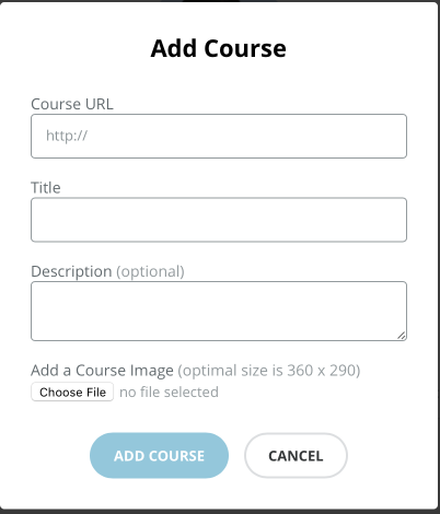 Add a course