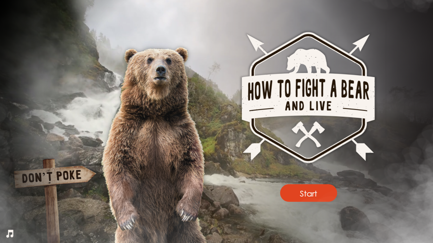 Articulate Storyline 360 How To Fight A Bear