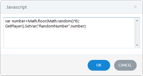 JavaScript to Generate One of Six Random Numbers