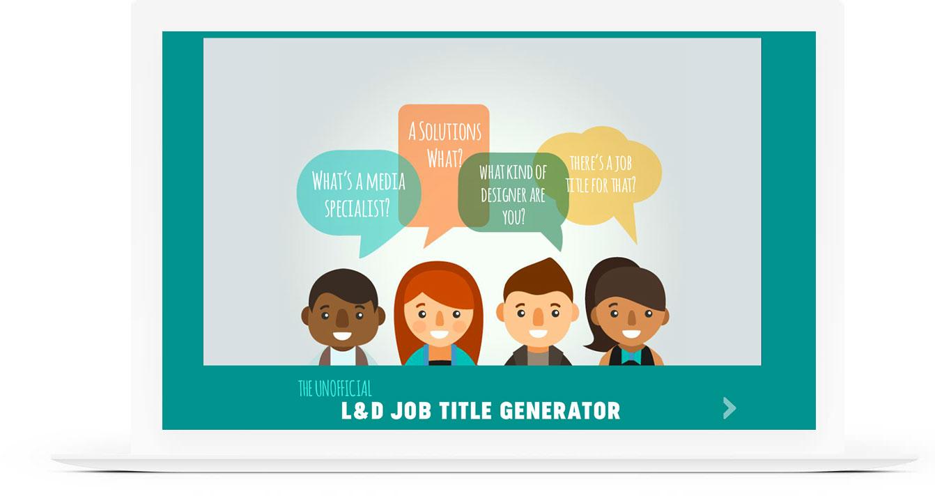 L&D Title Generator