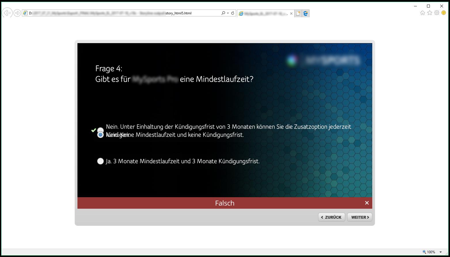 screenshot result slide _ html5
