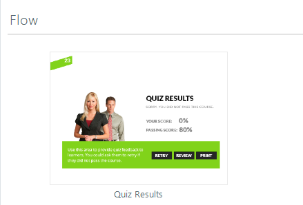 Quiz Result Graded Template