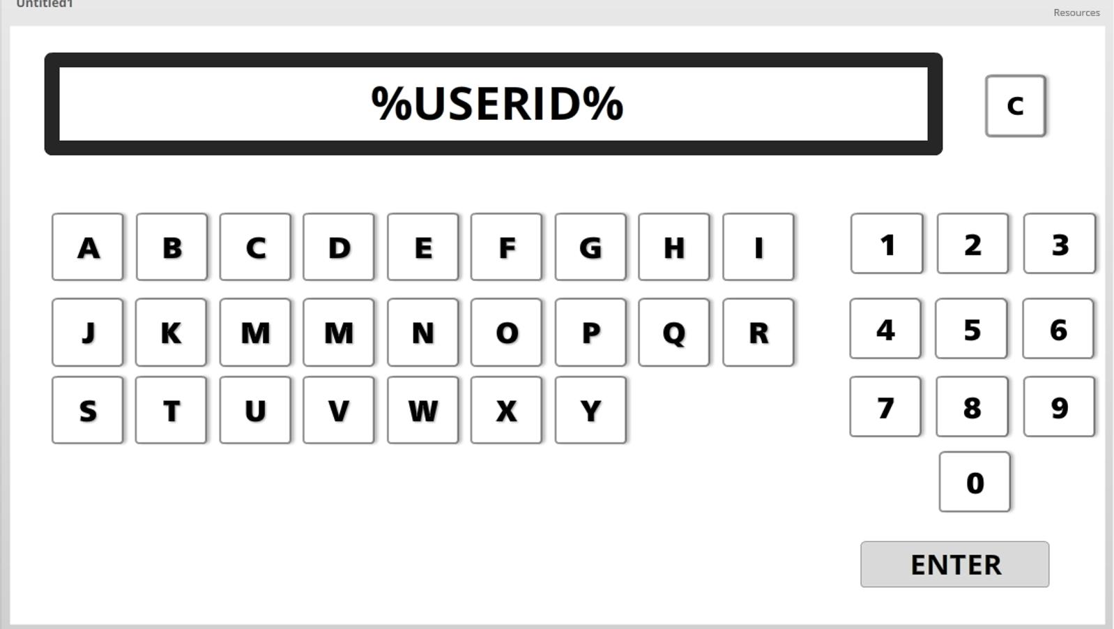 Data Entry Onscreen