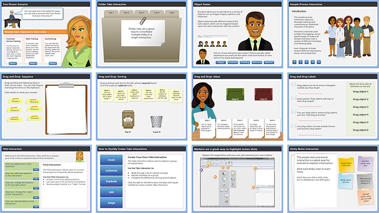 Storyline Top E-Learning Interactions